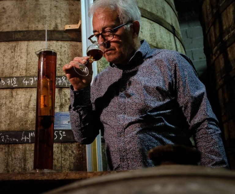Organic Cognac Tasting Cellar